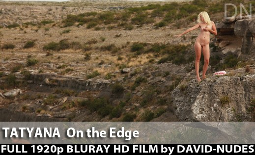 Tatyana - `On the Edge` - by David Weisenbarger for DAVID-NUDES