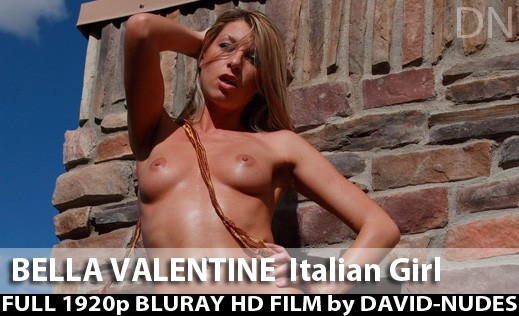 Bella Valentine - `Italian Girl` - by David Weisenbarger for DAVID-NUDES