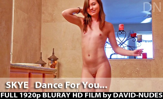 Skye - `A Dance For You...` - by David Weisenbarger for DAVID-NUDES
