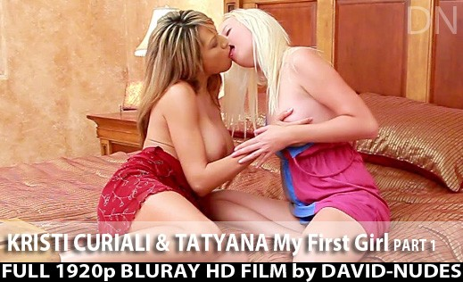 Kristi Curiali & Tatyana - `My First Girl - Part 1` - by David Weisenbarger for DAVID-NUDES