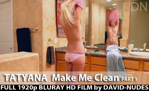 Tatyana - `Make Me Clean - Part 1` - by David Weisenbarger for DAVID-NUDES