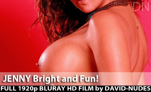 Jenny - `Bright And Fun!` - by David Weisenbarger for DAVID-NUDES