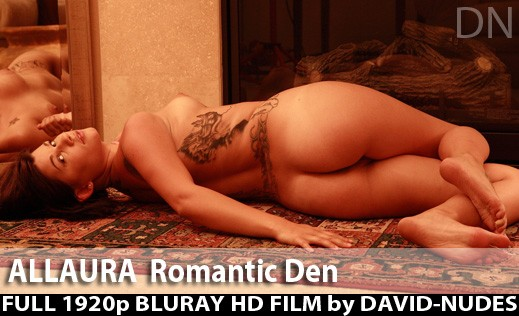 Allaura - `Romantic Den` - by David Weisenbarger for DAVID-NUDES