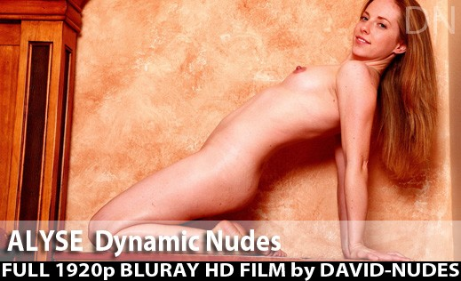 Alyse - `Dynamic Nudes` - by David Weisenbarger for DAVID-NUDES