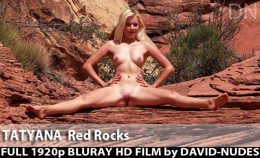 Tatyana - `Red Rocks` - by David Weisenbarger for DAVID-NUDES