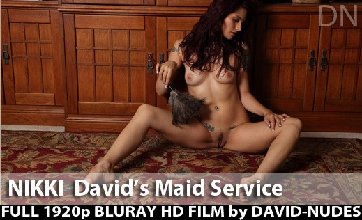 Nikki - `David's Maid Service` - by David Weisenbarger for DAVID-NUDES