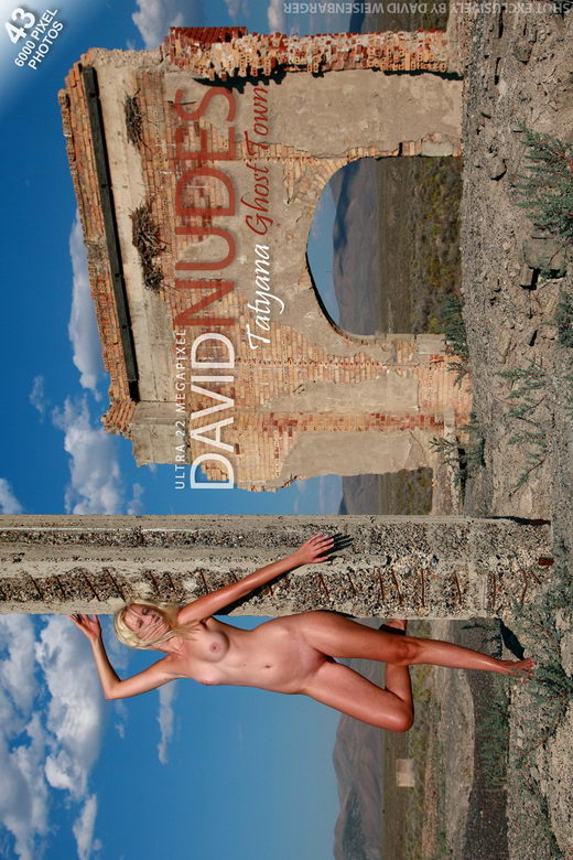 Tatyana - `Ghost Town` - by David Weisenbarger for DAVID-NUDES