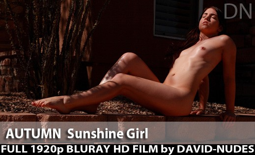 Autumn - `Sunshine Girl` - by David Weisenbarger for DAVID-NUDES