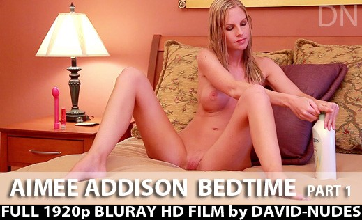 Aimee Addison - `Bedtime - Part 1` - by David Weisenbarger for DAVID-NUDES