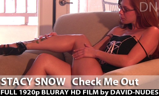 Stacy Snow - `Check Me Out` - by David Weisenbarger for DAVID-NUDES