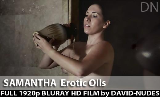 Samantha - `Erotic Oils` - by David Weisenbarger for DAVID-NUDES