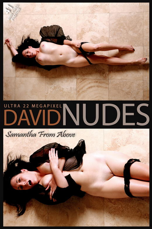 Samantha - `From Above` - by David Weisenbarger for DAVID-NUDES