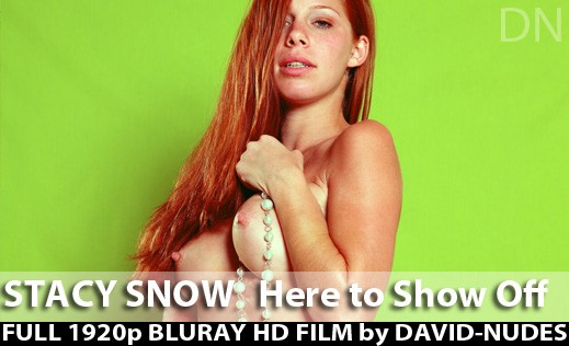 Stacy Snow - `Here To Show Off` - by David Weisenbarger for DAVID-NUDES