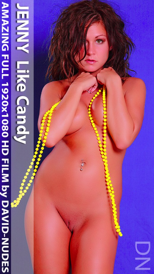 Jenny - `Like Candy` - by David Weisenbarger for DAVID-NUDES