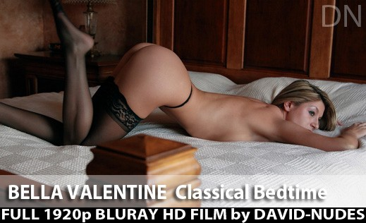 Bella Valentine - `Classical Bedtime` - by David Weisenbarger for DAVID-NUDES