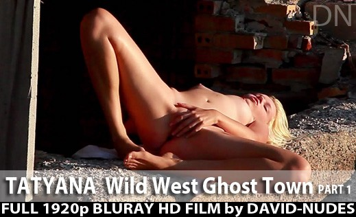 Tatyana - `Wild West Ghost Town - Part 1` - by David Weisenbarger for DAVID-NUDES