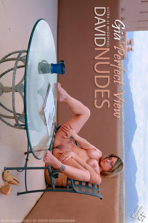 Gia - `Perfect View` - by David Weisenbarger for DAVID-NUDES