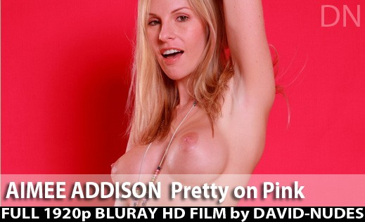 Aimee Addison in Pretty On Pink video from DAVID-NUDES by David Weisenbarger