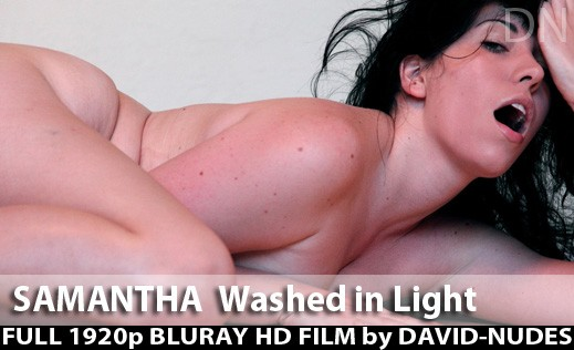 Samantha - `Washed In Light` - by David Weisenbarger for DAVID-NUDES