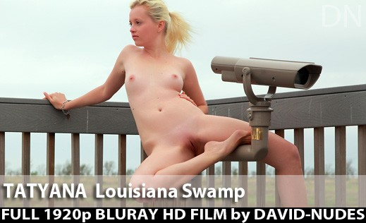 Tatyana - `Louisiana Swamp` - by David Weisenbarger for DAVID-NUDES