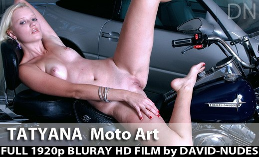 Tatyana - `Moto Art` - by David Weisenbarger for DAVID-NUDES
