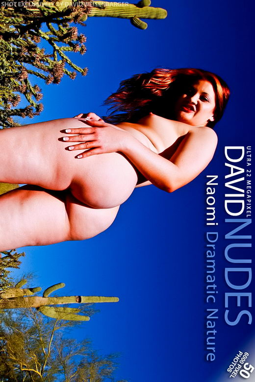 Naomi - `Dramatic Nature` - by David Weisenbarger for DAVID-NUDES
