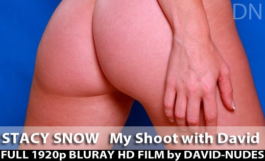 Stacy Snow - `My Shoot With David` - by David Weisenbarger for DAVID-NUDES