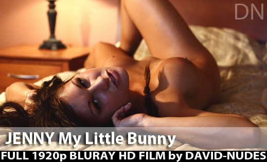 Jenny - `My Little Bunny` - by David Weisenbarger for DAVID-NUDES