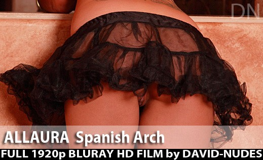 Allaura - `Spanish Arch` - by David Weisenbarger for DAVID-NUDES