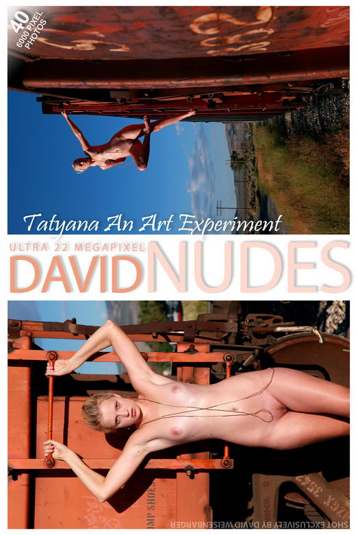 Tatyana - `An Art Experiment` - by David Weisenbarger for DAVID-NUDES