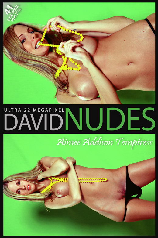 Aimee Addison - `Temptress` - by David Weisenbarger for DAVID-NUDES