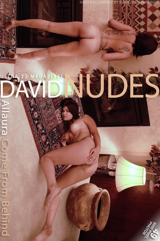 Allaura - `Come from Behind` - by David Weisenbarger for DAVID-NUDES