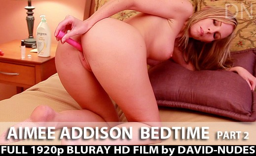 Aimee Addison - `Bedtime - Part 2` - by David Weisenbarger for DAVID-NUDES