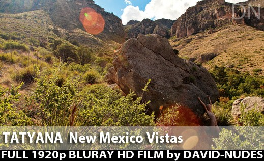 Tatyana - `New Mexico Vistas` - by David Weisenbarger for DAVID-NUDES