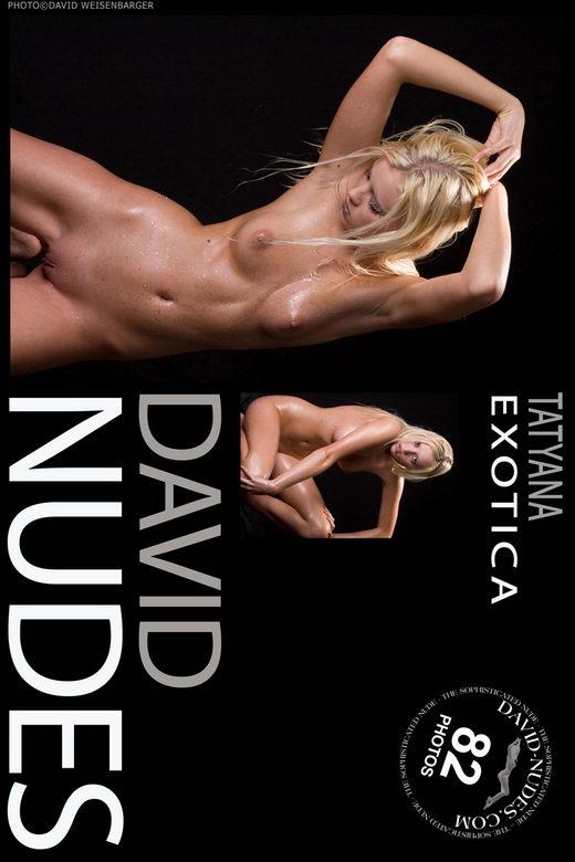 Tatyana - `Exotica` - by David Weisenbarger for DAVID-NUDES