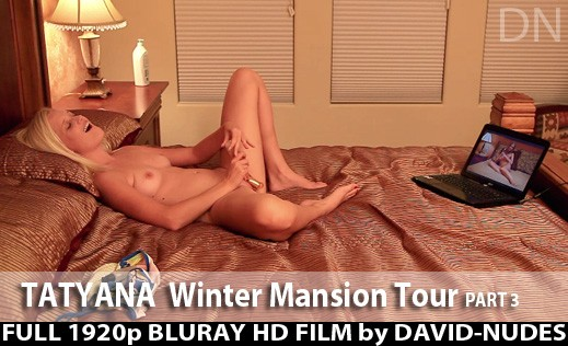 Tatyana - `Winter Mansion Tour - Part 3` - by David Weisenbarger for DAVID-NUDES