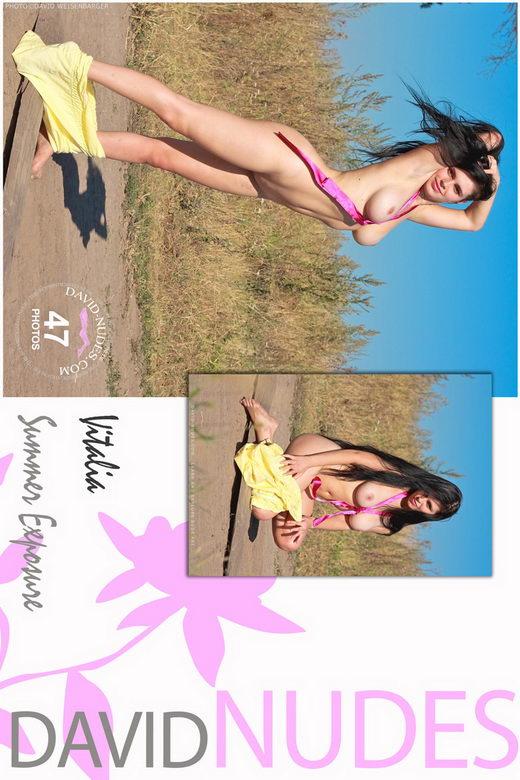 Vitalia - `Summer Exposure` - by David Weisenbarger for DAVID-NUDES