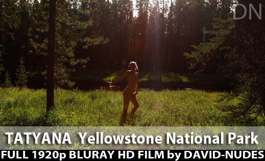 Tatyana - `Yellowstone National Park` - by David Weisenbarger for DAVID-NUDES