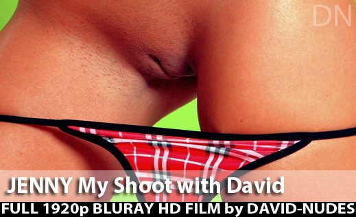 Jenny - `My Shoot With David` - by David Weisenbarger for DAVID-NUDES