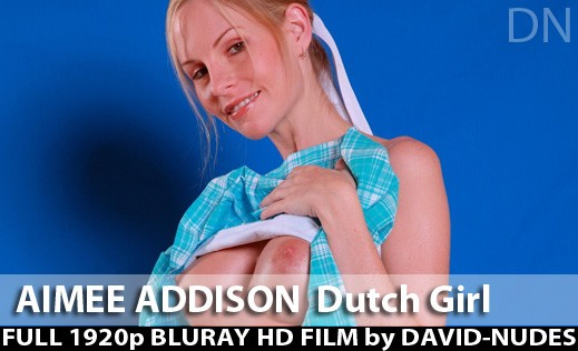 Aimee Addison - `Dutch Girl` - by David Weisenbarger for DAVID-NUDES