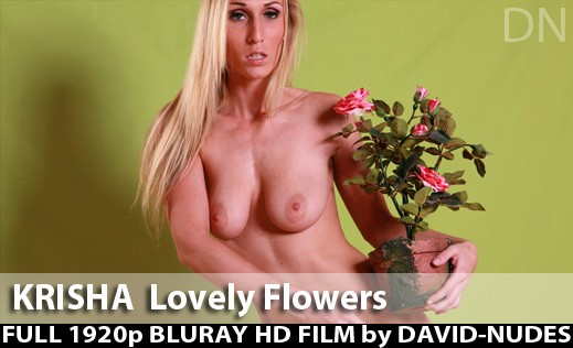 Krisha - `Lovely Flowers` - by David Weisenbarger for DAVID-NUDES