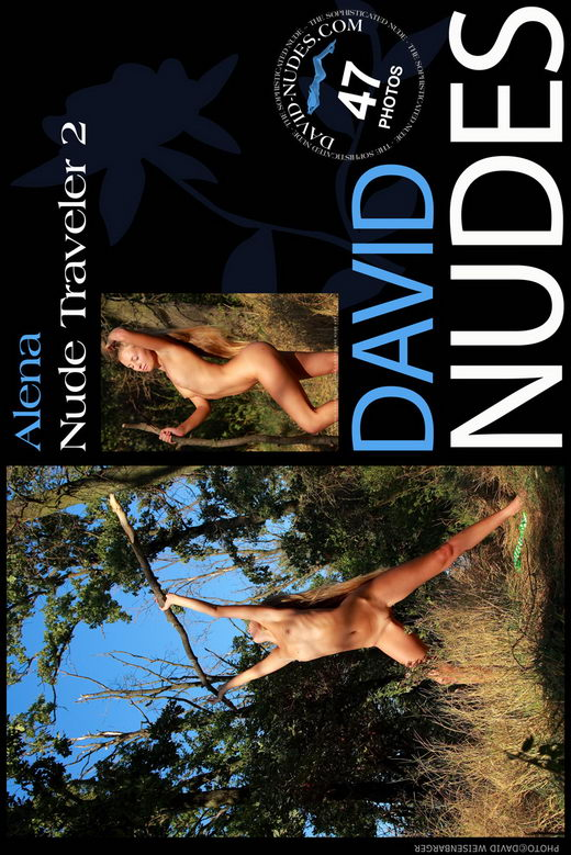 Alena - `Nude Traveler 2` - by David Weisenbarger for DAVID-NUDES