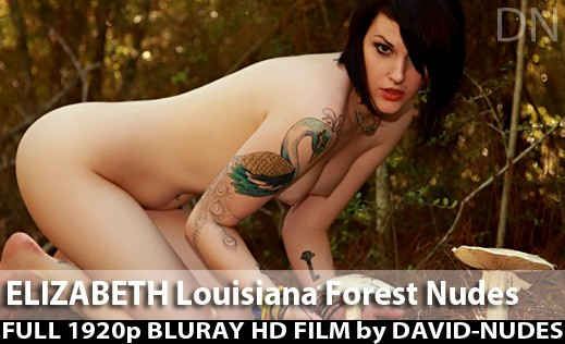Elizabeth - `Louisiana Forest Nudes` - by David Weisenbarger for DAVID-NUDES