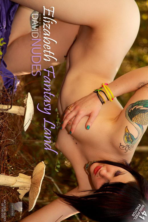 Elizabeth - `Fantasy Land` - by David Weisenbarger for DAVID-NUDES