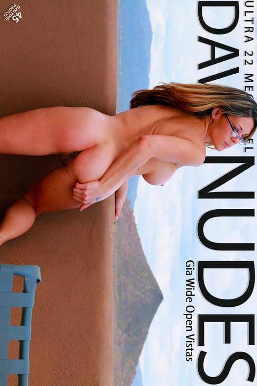 Gia - `Wide Open Vistas` - by David Weisenbarger for DAVID-NUDES