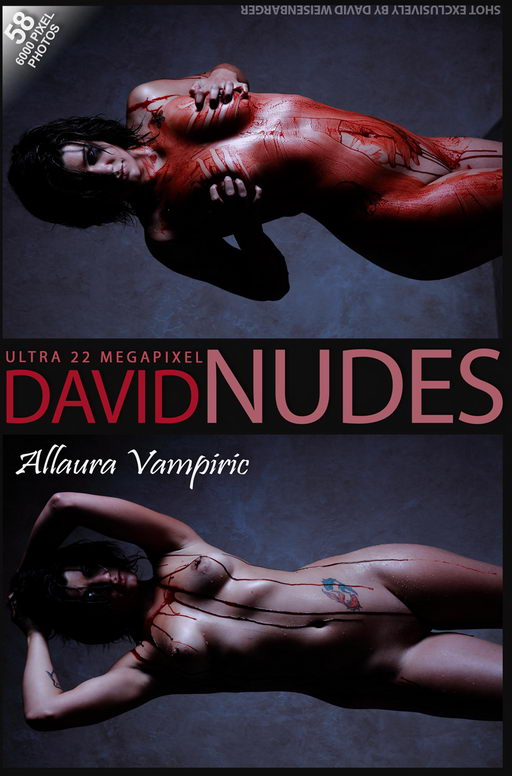 Allaura - `Vampiric` - by David Weisenbarger for DAVID-NUDES