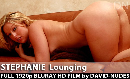 Stephanie - `Lounging` - by David Weisenbarger for DAVID-NUDES