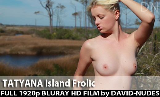 Tatyana - `Island Frolic` - by David Weisenbarger for DAVID-NUDES