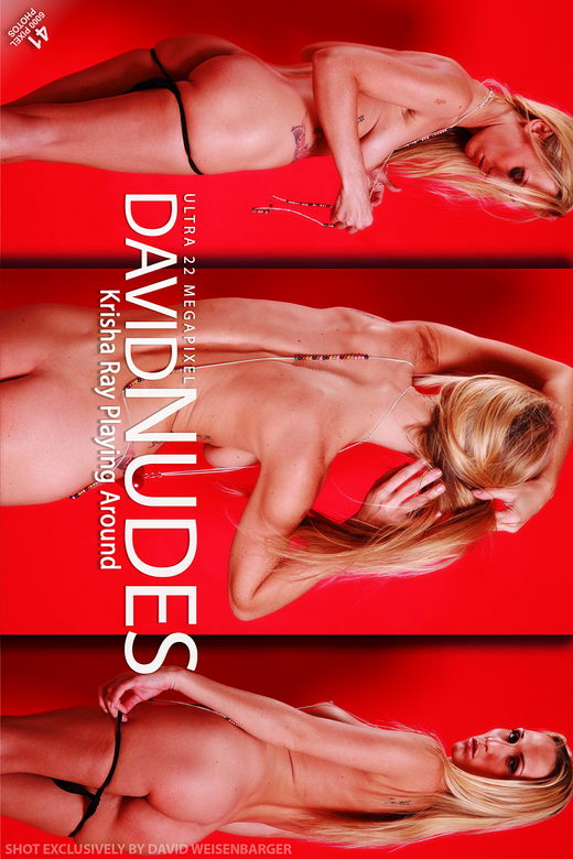 Krisha Ray - `Playing Around` - by David Weisenbarger for DAVID-NUDES