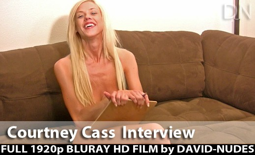 Courtney Cass - `My Interview` - by David Weisenbarger for DAVID-NUDES